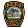 Danville Borough Police Department Badge