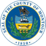 Montour County District Attorney's Office Badge