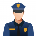 Law Enforcement Officer Icon